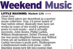 Madam Life review  - Daily Express