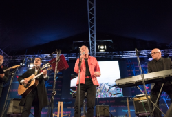 Roger McGough and LiTTLe MACHiNe, Hay Festival 2016